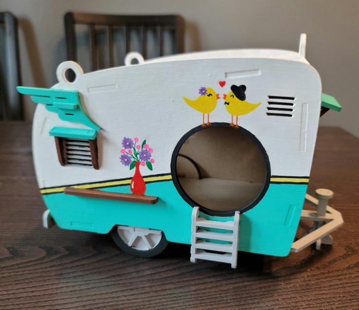 Retro Camper Bird House Kit - Make your own!