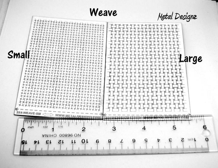 Laser Cut Texture Paper -Weave