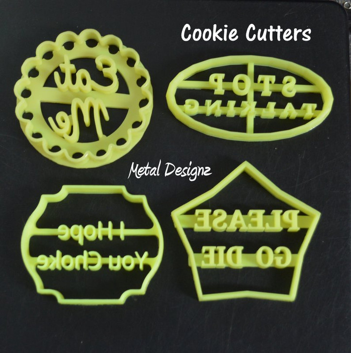 Mean Cookie Cutters