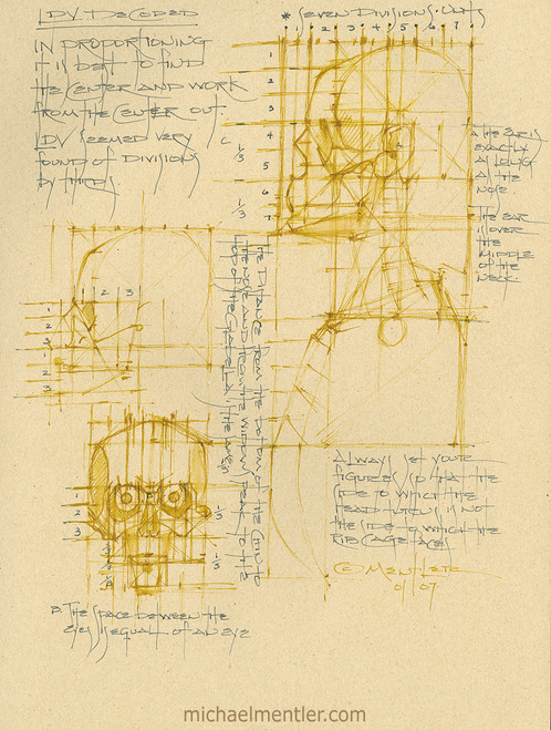 Sketchbook Journals CLXXV  by Michael Mentler 11 in by 8.5 in, Archival Ink on French's Speckletone Paper