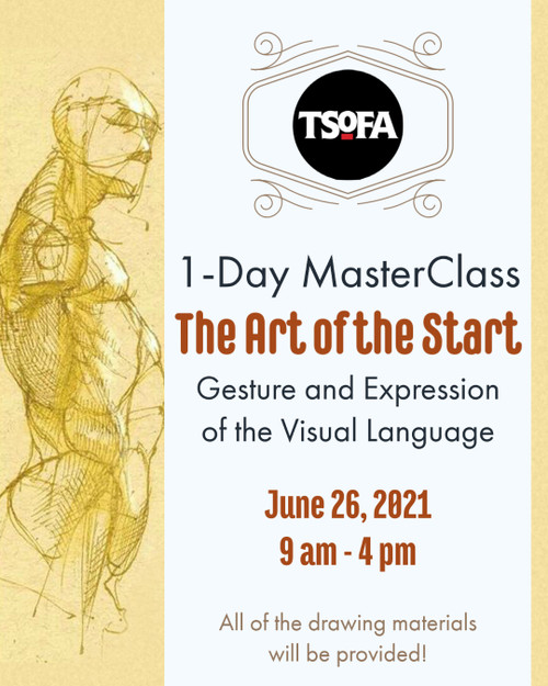 1-Day Masterclass - The Art of the Start, Gesture and Expression of the Visual Language, June 26, 2021 by Michael Mentler