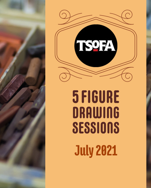 Five pass pack to figure drawing session at TSoFA.