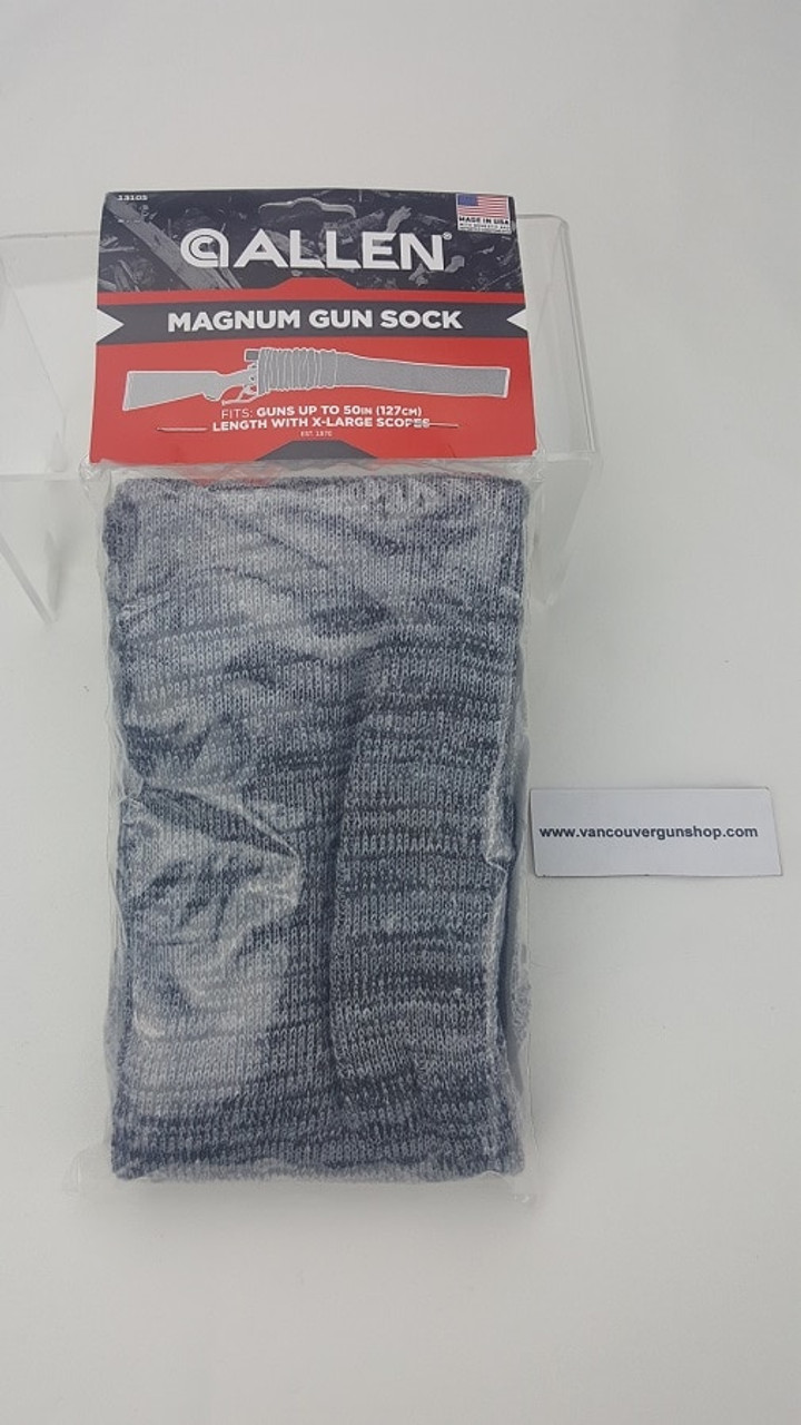 Allen Black Tactical Single Gun Sock For Rifles With or Without Scope