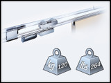 Fitting Set For Sliding Door Up To 264 lbs/120 kg