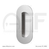 Accurate No. FC5002 Obround Flush Pull with Concealed Screws