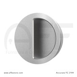 Accurate No. FC2144 Round Flush Pull, Concealed Screws