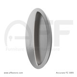 Accurate No. FC5005 Oval Flush Pull, Concealed Screws