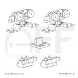 Classic K.080.0.1.S Fitting Set Components