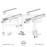 Evolution K.080.2.3.C - Sliding Door Fitting Set - Components
