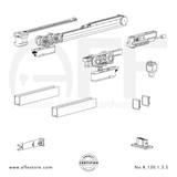 Evolution K.120.1.3.S - Sliding Door Fitting Set - Components