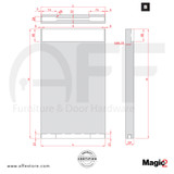 Magic 2  Concealed Milling
