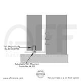 Adjustable Guide  and U Shape Guide - Option