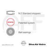 Diva Air Vetro - Standard Stopper