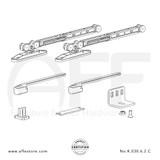 STEP No. K.030.6.2.C Sliding Door Fitting Set - Components
