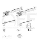Eclettica K.080.2.2.C- Sliding Door Fitting Set - Components