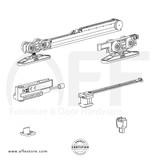 STEP K.080.1.2.S- Sliding Door Fitting Set - Components