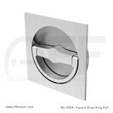 Accurate 22DR Square Drop Ring Pull