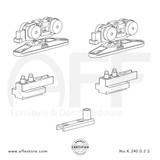 STEP  K.240.0.2.S - Sliding Door Fitting Set - Components
