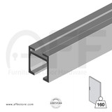 Sliding track No. 8000.00160,  8010.00160 for max. door  weight up to 352Lbs/160Kg