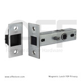 "Magnetic Latch - Privacy Version - 2-3/4"" Backset"