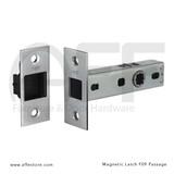 "Magnetic Latch - Passage Version - 2-3/4"" Backset"