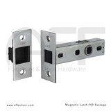 "Magnetic Latch - Passage Version - 2-3/8"" Backset"
