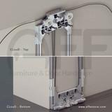 CLouD - Floating & Concealed System For Sliding Wood Door