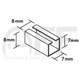 Spindle Sleeve Converters - 8mm - 7mm/Length 20mm