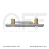 Accurate No. 04 Transom Bolt for Double Doors - Bottom