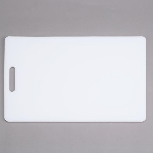 "0.50"" Thick (NSF) Polyethylene White Cutting Boards"