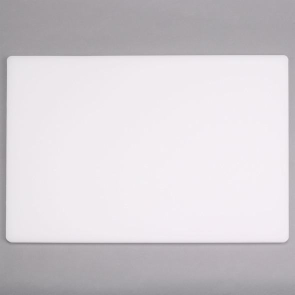 "0.75"" Thick (NSF) Polyethylene White Cutting Boards"