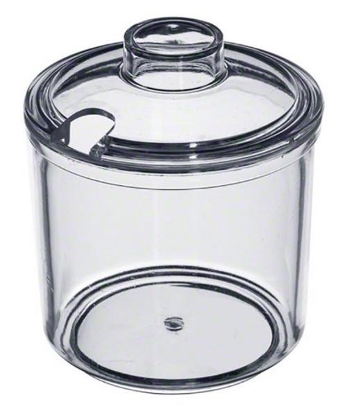7 oz Plastic Condiment Jar w/ Lid