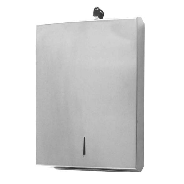 Stainless Steel C/Multi-Fold Paper Towel Dispenser