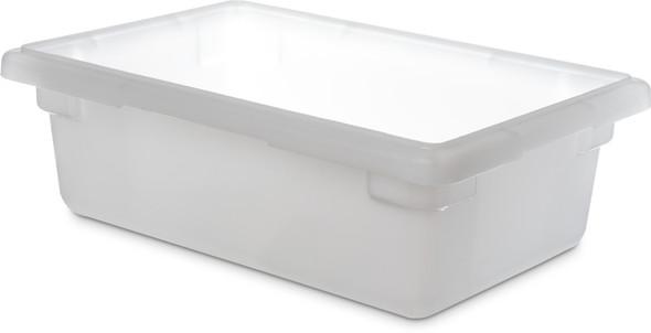 "12"" X 18"" X 6"", 3 GAL. FOOD STORAGE BOX, PP, White"
