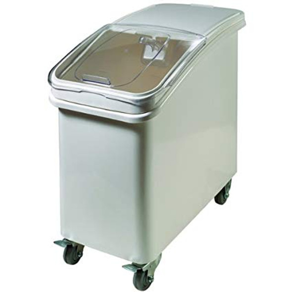 21 Gallon Mobile Ingredient Storage Bin with Scoop