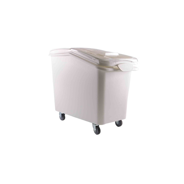 27 Gallon Mobile Ingredient Storage Bin with Scoop