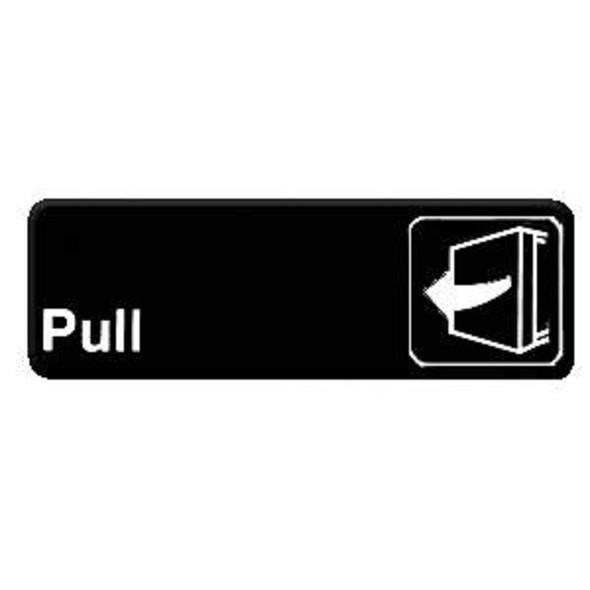 """(Black 9"""" x 3"""") """"Pull"""""""