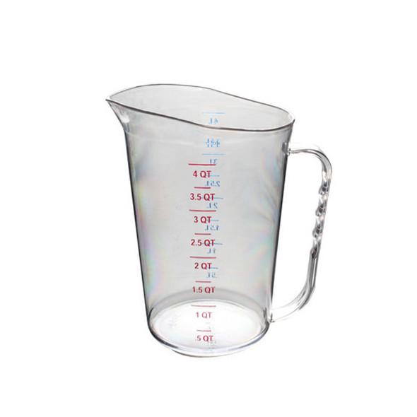 4 Quart/4 Liter, Polycarbonate Measuring Cups