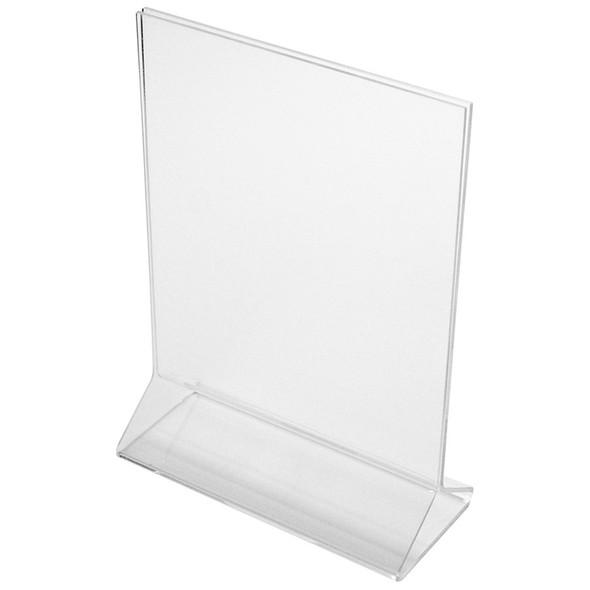 "8.5"" x 11"" - Acrylic Tabletop Displayette"