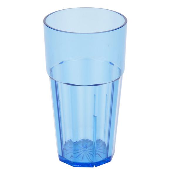 Diamond 16 oz Polycarbonate Tumbler Glass (PLPCTB116BL) Blue