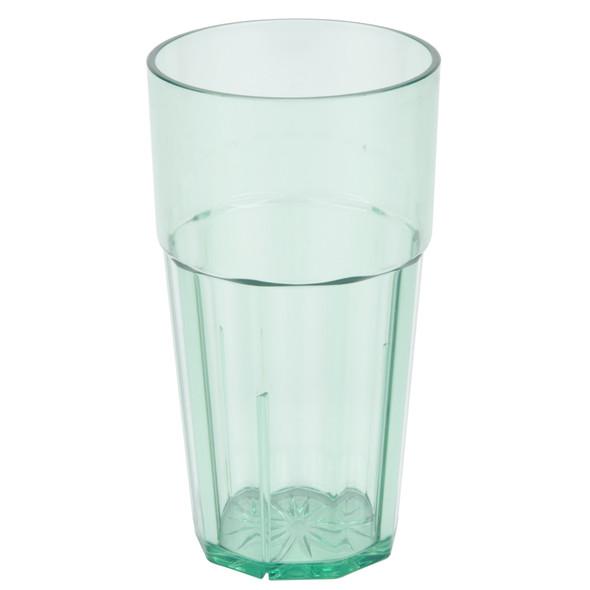 Diamond 24 oz Polycarbonate Tumbler Glass (PLPCTB124GR) Green