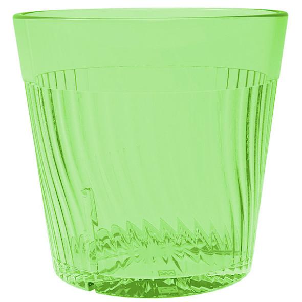 Belize 8 oz Polycarbonate Tumbler Glass (PLPCTB308GR) Green