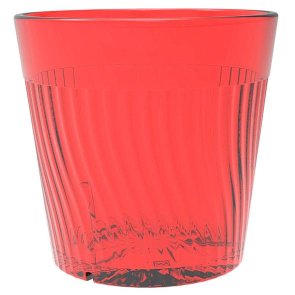 Belize 8 oz Polycarbonate Tumbler Glass (PLPCTB308RD) Red