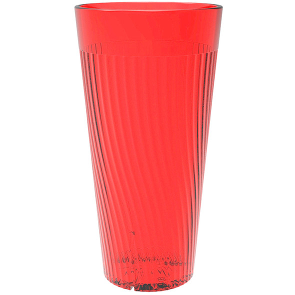 Belize 16 oz Polycarbonate Tumbler Glass (PLPCTB316RD) Red