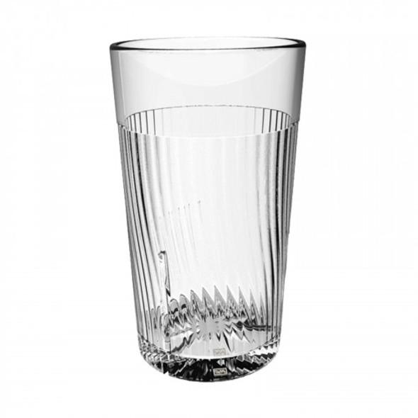 Belize 24 oz Polycarbonate Tumbler Glass (PLPCTB324CL) Clear