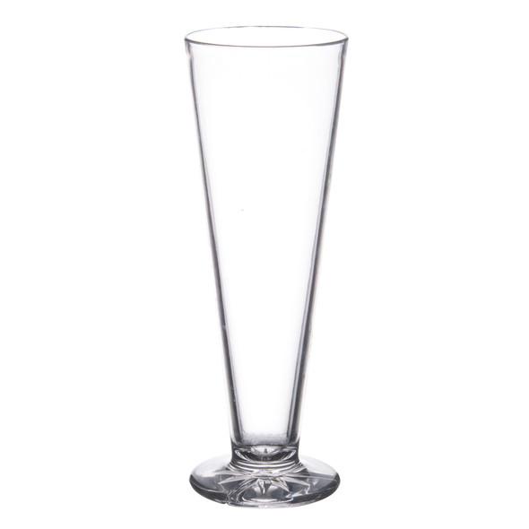 13 oz Clear Plastic Pilsner Glass (PLTHPS013C)