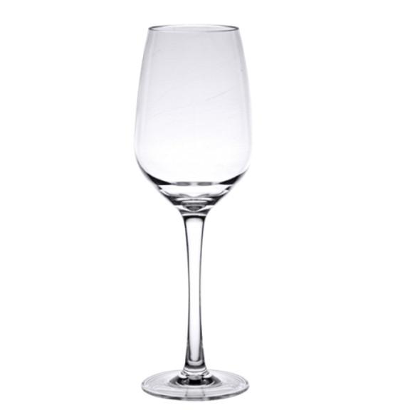 Thunder Group PLTHWG011RC 11 oz Polycarbonate Stem Wine Glass