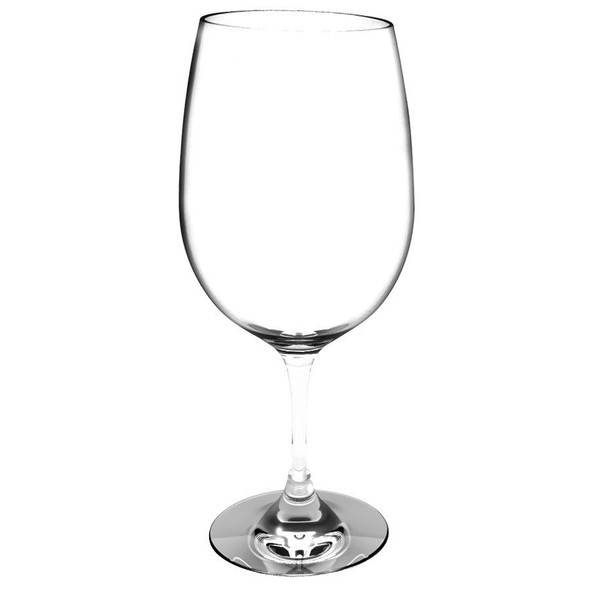 Thunder Group PLTHWG023RC 23 oz Polycarbonate Red Wine Glass
