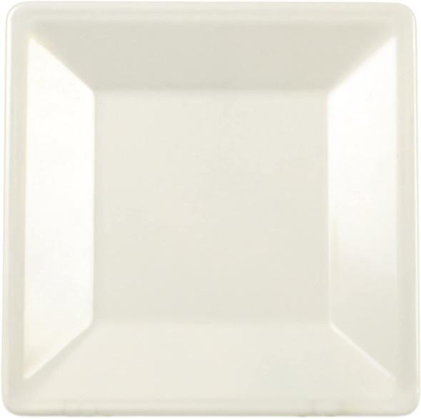 "Thunder Group Passion Pearl, 13.75"" Square Melamine Plate (PS3214V)"
