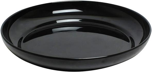 """Thunder Group RF1112B Black Pearl, 12"""" Round Melamine 73 oz Platter"""